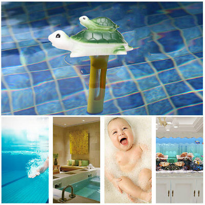 Cartoon Style Floating Pool Baby Kids Bath Thermometer for Swimming Pool. Pond