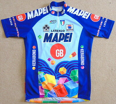 71dc99b97 Excellent Condition Mapei Gb Short Sleeve Team Jersey. Sportful Xl (Size 5)