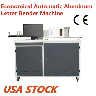 US Stock 500W Automatic Channel Letter Fabrication Bender Machine Light Weight