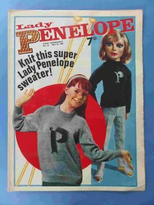Lady Penelope 18 1966 Gerry Anderson Thunderbirds! Lovely! Very Rare!!
