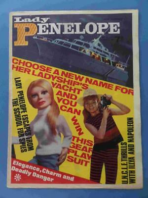Lady Penelope 12 1966 Gerry Anderson Thunderbirds! Lovely! Very Rare!!