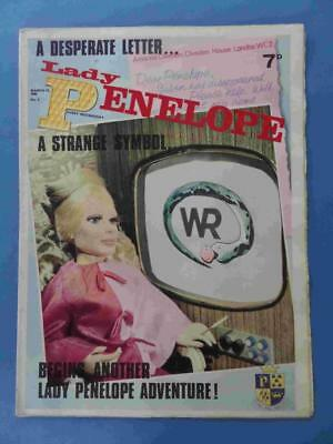 Lady Penelope 8 1966 Gerry Anderson Thunderbirds! Lovely! Very Rare!!