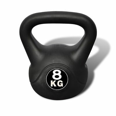 8kg Gym Fitness Weight Lift Kettlebell Muscle Strength Body Building Equipment