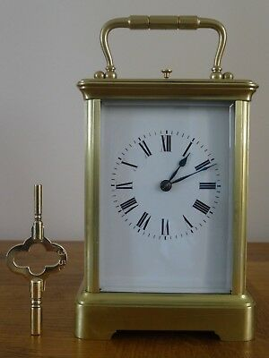 Lovely Margaine repeater carriage clock - c. 1880/85 - fully restored