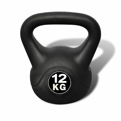 12kg Gym Fitness Weight Lift Kettlebell Muscle Strength Body Building Equipment