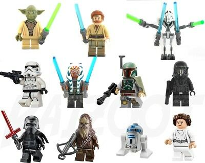 Star Wars Mini Figures - Sets or Individual Lego & Custom Minifigures Minifigs