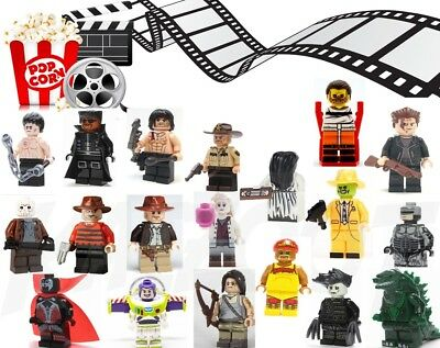 TV, Film, Series Mini Figures - Sets or Individual Lego & Custom