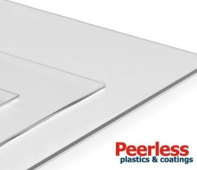 Clear Acrylic Perspex Sheet, A4 Cut To Size, 1mm, 1.5mm, 4mm