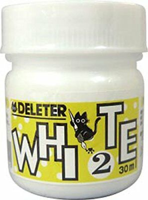 Deleter Ink Water-based Ink White 2  30ml for modify comic 3410006