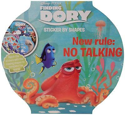 Disney Pixar Finding Dory Sticker By Shapes Activity Book. Childrens Kids Gift