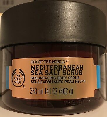 Spa Of The World - Sea Salt Scrub Peeling Neu The Body Shop