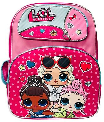 a455afe665fe SURPRISE DOLLS LOL Baby Backpack Anime Cute Travel School Bags For ...