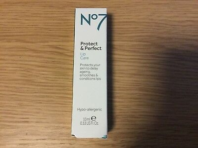 Boots No7 Protect And Perfect Lip Care 10ml Lip Balm Treatment NEW STOCK