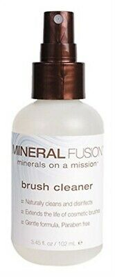 Mineral Fusion, Brush Cleaner - 3.45 Ounce (Pack Of 6)