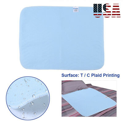 6 Washable Underpad Bed Under Pad Reusable Incontinent Pee Protector Absorbent