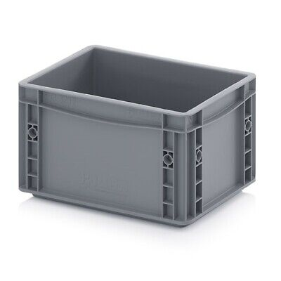 Euro Containers 30x20x17 Stacking Storage Box Eurobox Stackable 300x200x170