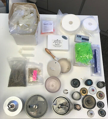 Dental Lab Whip Mix Mixing Spatulators and Casting Equipment Rings