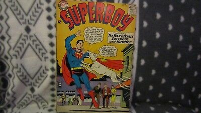 Superboy #118 (Jan 1965, DC) 118,119,120,121,122,123,124,125, all fine to V/F