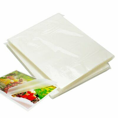"""100 Pack Thermal Laminating Pouches 9"""" x 11.5"""" 3 Mil Letter Size Clear Crystal"""