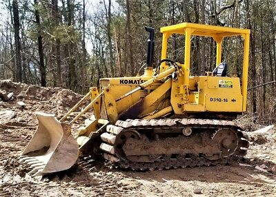 Komatsu D31Q-16 Track Loader Crawler ie- D31Q cat deere caterpillar