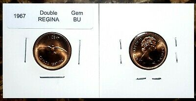 Double Back /& Cocoon!! Canada 1978 Small Cent Gem BU Variety Set Double Date