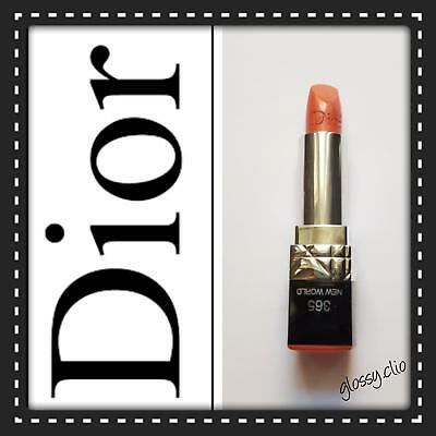 Christian Dior Rouge rossetto n.365 col. new world. Nuovo!