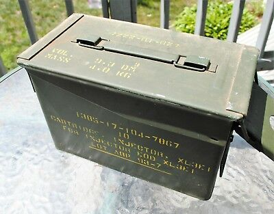 Ammo Can Cigar Humidor / Coin Holder / Ammo 12'' X 7'' X 6'' Seales Air Tight 6