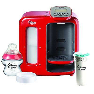 Tommee Tippee Perfect Prep Day & Night Red