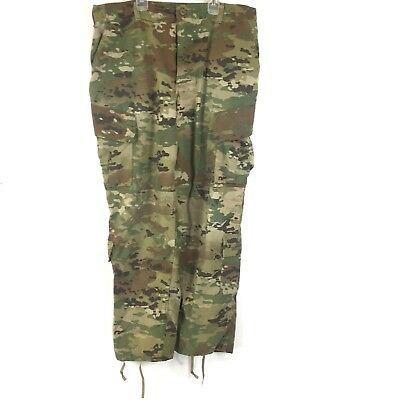 US Army Scorpion Pants Combat Uniform Insect Resistant Trousers Large Regular