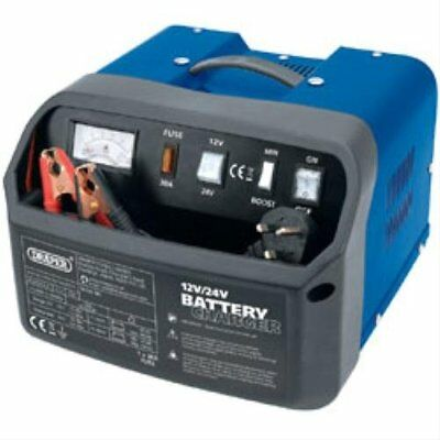 Draper 11953 11A 12/24V Battery Charger