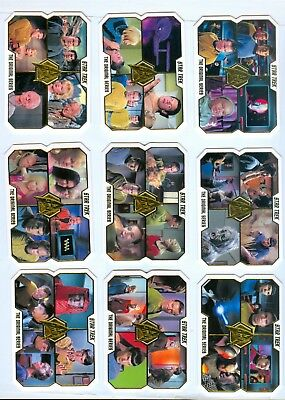 2016 Star Trek TOS 50th Anniversary Complete Base Set - 80 Die Cut Cards