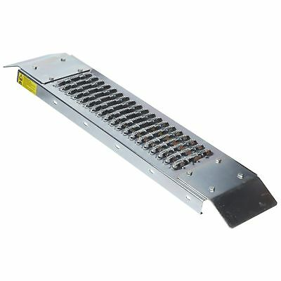 500lb Loading Ramp 20x80cm Heavy Duty Steel Safe Loading Double End Amtech S5710