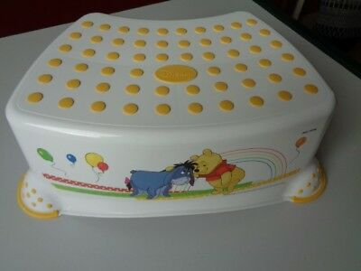 2 X Disney Winnie The Pooh Child Infant Unisex Step Stools Upstairs Downstairs