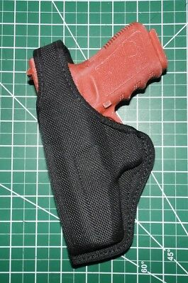 Bianchi 7105 Cruiser Accumold LH Thumb Break Belt Holster Glock 19 23 SIG P225