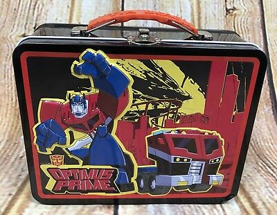 Transformer Lunch Box Optimus Prime Tin Box Company