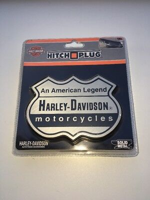 Harley Davidson Car Trailer Hitch Plug Cover  An American Legand 3D Solid Metal