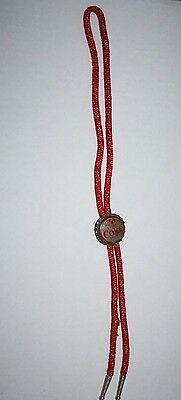 Vintage Drink Coca Cola Cork Bottle Cap Original Bolo Tie Coke