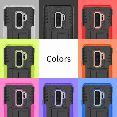Hybrid Shockproof Heavy Duty Stand Case Cover For Samsung Galaxy S8+ A3 J5 2017