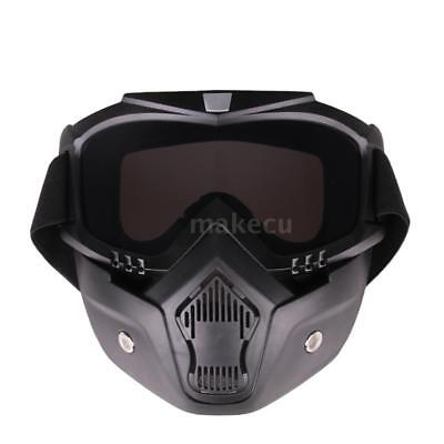 Motorrad Cross Country Maske Tactical Goggles Winddicht Sand-Beweis K7Z8