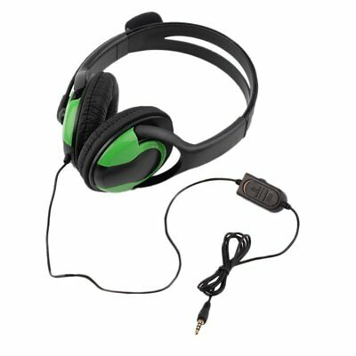 Wired Headset Headphone Earphone Steoro Microphone for PS4 Gaming PC Chat AZ