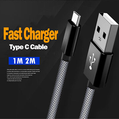 Fast 2MT Long USB C 3.1 Type C Data Snyc Charger Charging Cable For Google Pixel