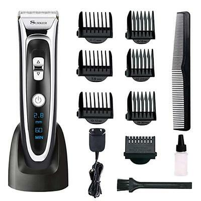 New Professional Electric Shaver Razor For Men 4 In 1 Beard Trimmer Wet Dry