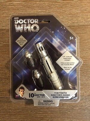 Doctor Who: The Tenth Doctor's Sonic Screwdriver With Ultraviolet Light and Pen