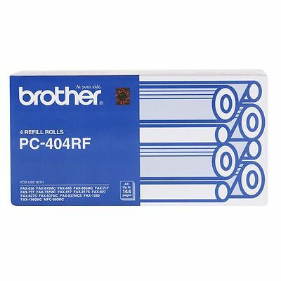 1 Original Genuine BROTHER PC-304RF Fax Cartridges (See also PC-301 & PC-302RF)