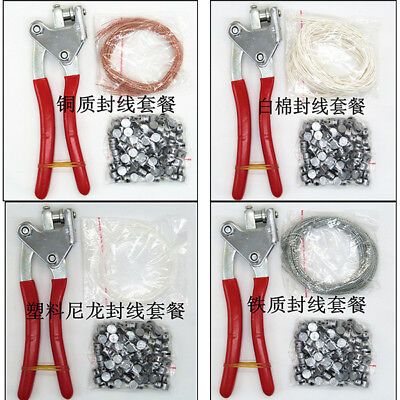 Lead Sealing Piler Meter Seal Press Security & Iron /Cotton/ cuprum Wire &Leads