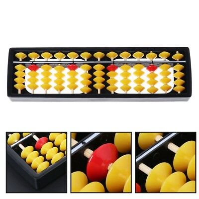 Abacus Soroban Beads Column Kid School Learning Tools Educational Math Toys