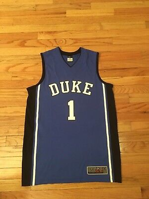 9e4b52eff69 MEN S NIKE ELITE Authentic Team Apparel Duke Blue Devils 3 Allen ...