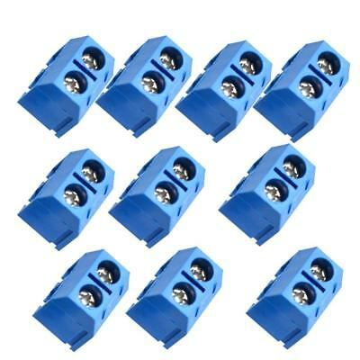 20Pc steckbare Schraubklemme Anschluss 5,08mm Pitch Through Hole-BLAU