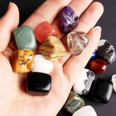 Mixed Naturalssorted Natural Collectable Tumbled Stones Crystal Healing Gemstone