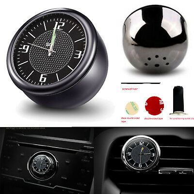 For Benz Smart Fortwo Car Clock Refit Interior Luminous Quartz Watch Ornaments